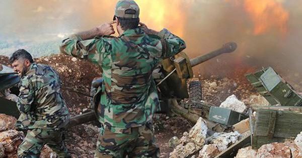 Video: Thời khắc kinh hoàng, 3 tướng Syria cùng tử trận vì trúng đạn pháo phiến quân