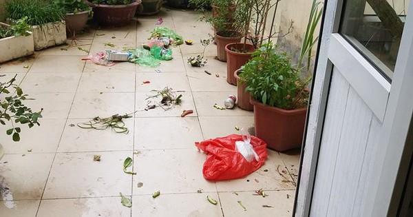 Cô gái phát điên vì đống rác vương vãi khắp ban công hàng xóm chung cư vứt xuống, dân tình rào rào kể bao chuyện éo le hơn