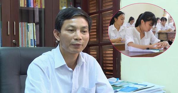 Phó Giám đốc Sở GD-ĐT Thanh Hóa: Không phát hiện bất thường về điểm thi