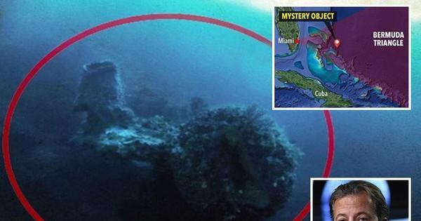 """Phát hiện vật thể lạ bên dưới """"tam giác quỷ"""" Bermuda: Nghi của người ngoài hành tinh!"""