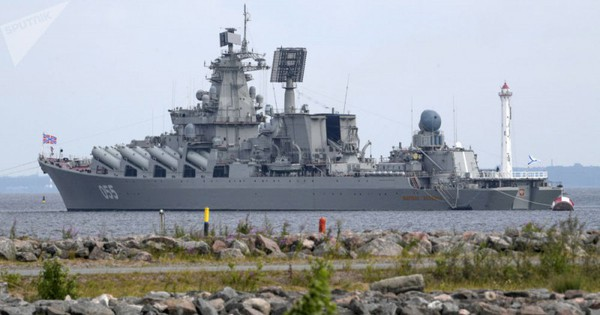 Tàu chiến Hạm đội Biển Bắc cơ động vào biển Địa Trung Hải