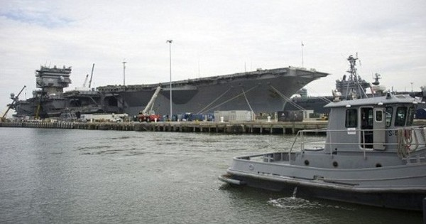 """Rã sắt vụn"" tàu sân bay Enterprise tốn hơn 1 tỉ USD"