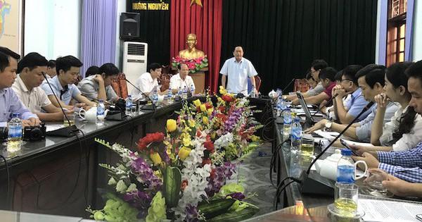 Họp báo vụ người phụ nữ kiện hành chính Chủ tịch tỉnh Nghệ An