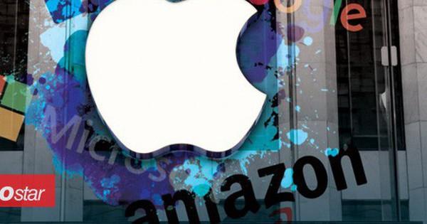 Điểm thú vị đằng sau danh sách 20 công ty công nghệ lớn nhất trên thế giới