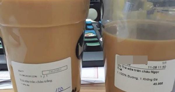 2 cốc trà sữa khiến hàng nghìn người tranh cãi dữ dội: Không uống đá thì vẫn được múc đầy hay chỉ được cốc vơi?