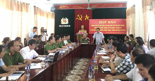 Họp báo thông tin chính thức về vụ xả súng bắn chết 2 vợ chồng rồi tự sát ở TP Điện Biên Phủ