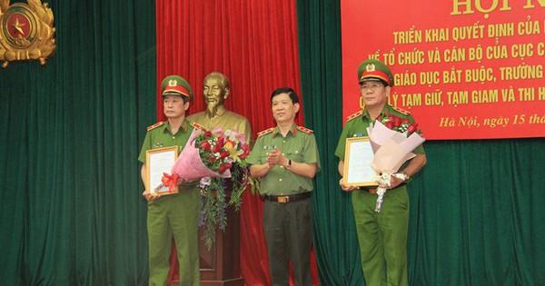 5 lãnh đạo Tổng cục và Cục trưởng tự nguyện xin nghỉ công tác trước tuổi