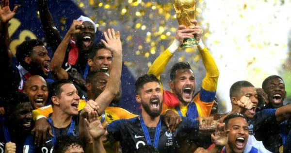 Pháp lên đỉnh bảng xếp hạng FIFA, Đức bị đá văng xuống hạng 15, Việt Nam vững vàng trên ngôi đầu Đông Nam Á
