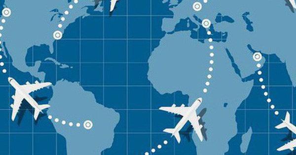 Máy bay không bay theo đường thẳng bao giờ – tưởng dễ mà mấy ai biết được nguyên do