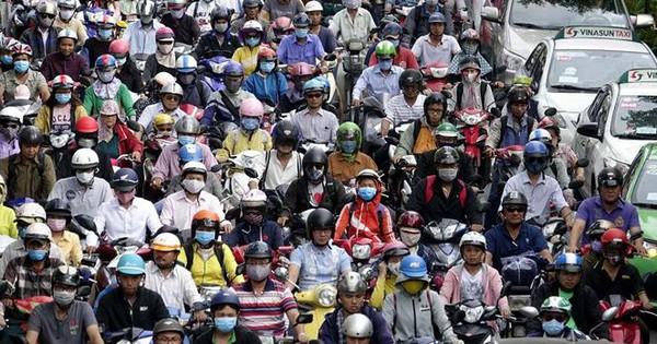 Cấm xe máy vào trung tâm TPHCM từ năm 2030