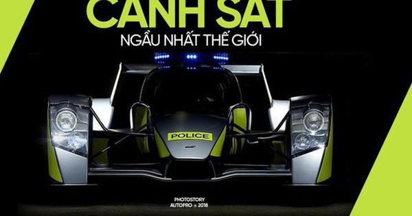 """Những siêu xe """"ngành"""" ngầu nhất của cảnh sát thế giới"""