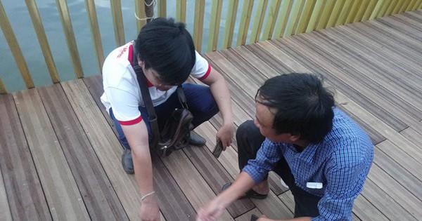 Sàn gỗ lim cầu đi bộ siêu sang ở Huế rạn nứt: Quy trình kiểm duyệt gỗ ra sao?