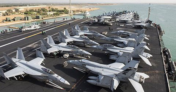 Nhóm tác chiến tàu sân bay Mỹ tiến vào Biển Địa Trung Hải làm gì?