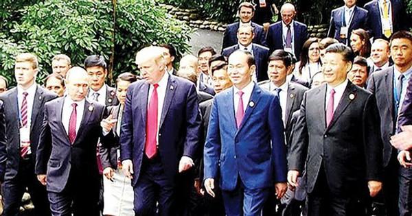 Dấu ấn Chủ tịch nước Trần Đại Quang