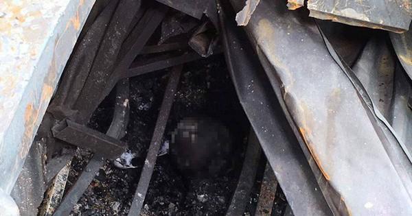 Tìm thân nhân hai người chết cháy gần Viện Nhi, quê Phú Thọ