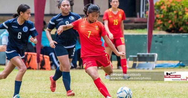 Trung Quốc liên tục hủy diệt đối thủ, ghi tới 54 bàn mà chưa để thủng lưới sau 4 trận