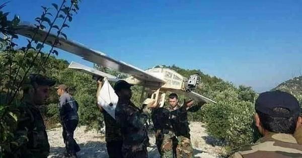 Thánh chiến Syria tung máy bay không người lái tấn công quân Assad, 1 chiếc UAV bị hạ