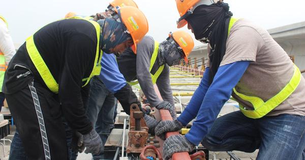 Cận cảnh 2km đường ray đầu tiên của tuyến metro trị giá 2,49 tỷ USD Bến Thành – Suối Tiên