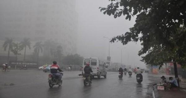 Ngày 14/11, nhiều khu vực trong cả nước có mưa