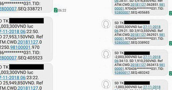 Vietcombank lên tiếng vụ thẻ ATM bị mất 32 triệu đồng