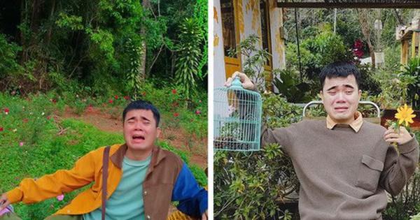 Nhân vật chính trong bộ ảnh khóc trôi cả Đà Lạt bị bạn bè doạ unfriend vì cứ lên Facebook là thấy mặt mếu