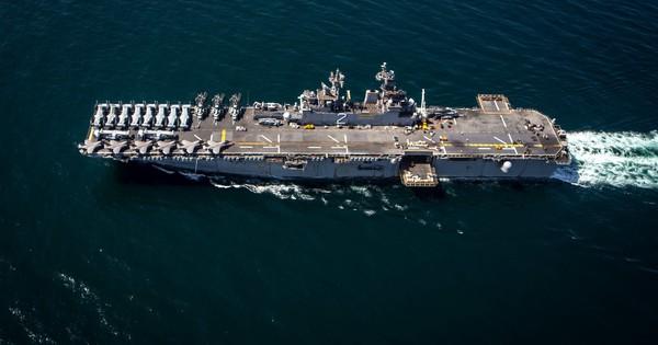 """Tình hình Syria: 4.500 lính thủy đánh bộ Mỹ """"phục kích"""" Trung Đông"""