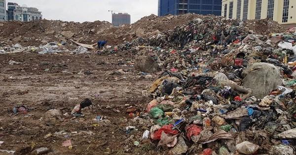 Hà Nội di dân vùng ảnh hưởng quanh bãi rác Nam Sơn