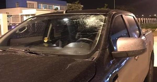 Xác định đối tượng ném vỡ kính ôtô trên cao tốc Hà Nội – Hải Phòng