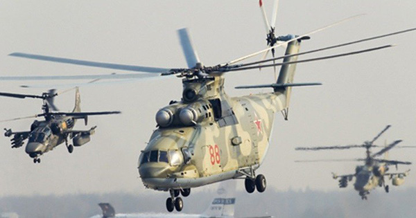 Ảnh: Các loại trực thăng quân sự lợi hại hàng đầu của quân đội Nga