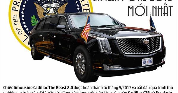"""Cadillac One – siêu xe """"độc nhất vô nhị"""" cho Nguyên thủ"""