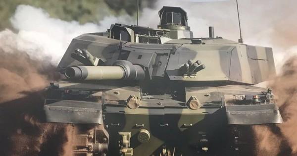 Ngạc nhiên khi Anh nâng cấp xe tăng Challanger II bằng tháp pháo Đức