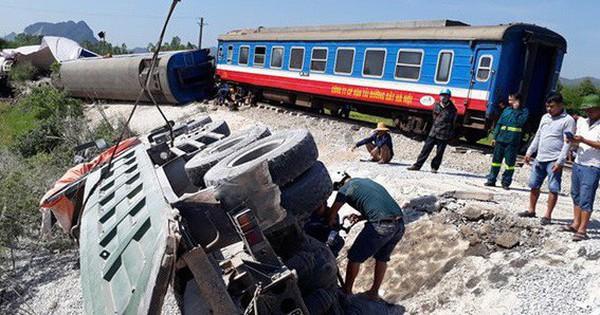 Nam Định: Tai nạn tàu hỏa khiến hai người tử vong