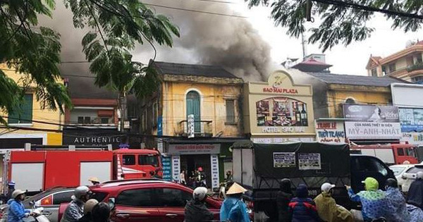 Cháy khách sạn ở Hải Phòng, một phụ nữ tử vong
