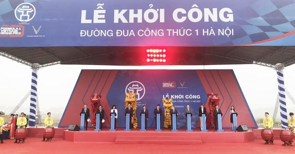 Đường đua Công thức 1 tại Hà Nội dài 5.565 mét với 22 góc cua kinh điển