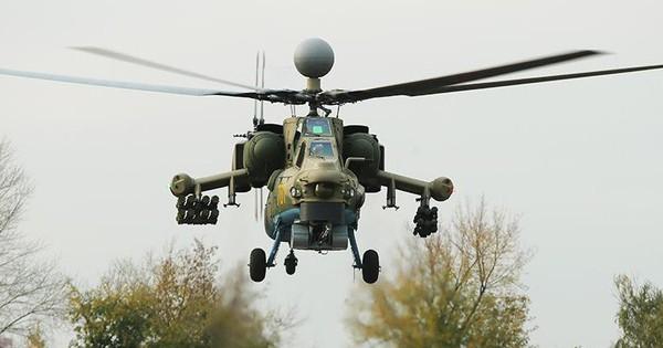 """Nuốt bụi: """"Siêu thợ săn đêm"""" Mi-28NM tôi luyện trong cát nóng Syria – Khủng bố khiếp sợ"""