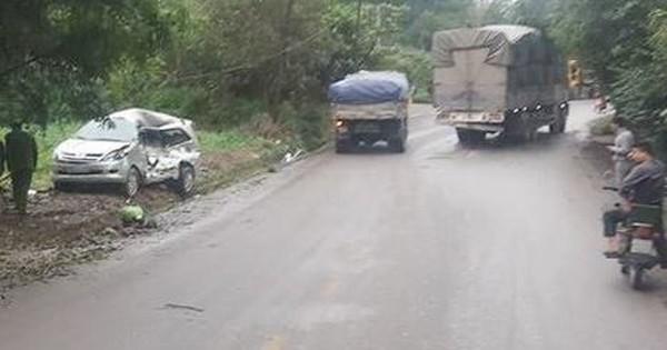 Xe tải tông xe Innova khiến 8 người thương vong, tài xế dương tính với ma túy