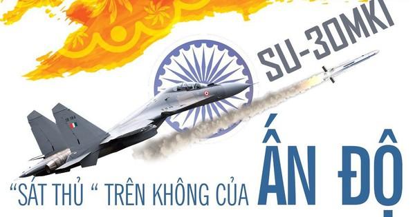 """Tiêm kích Su-30MKI – """"sát thủ"""" trên không của Ấn Độ"""