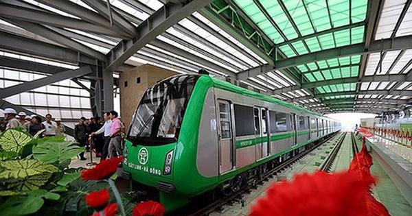 Đường sắt Cát Linh – Hà Đông: Dự kiến giá vé thấp nhất 8.000 đồng/lượt