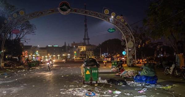 Đà Lạt – thành phố ngàn hoa ngập ngụa rác sau kỳ nghỉ lễ