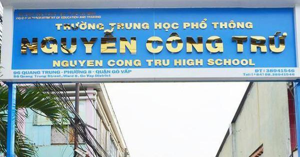 Lãnh đạo Sở GD TP.HCM: Sẽ xử nghiêm nếu phát hiện giáo viên nâng khống điểm cho học sinh