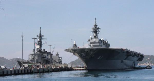 Hai tàu chiến hiện đại và lớn nhất Hải quân Nhật Bản thăm Việt Nam