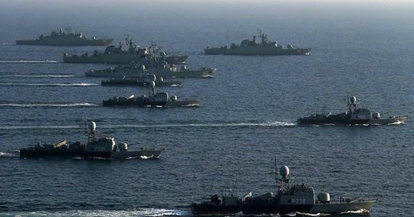 """Những chiến hạm """"xương sống"""" của hải quân Iran"""
