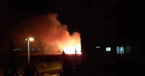 Syria lại rực lửa: Căn cứ không quân chiến lược ở Damascus bốc cháy bí ẩn