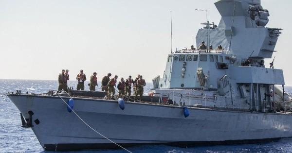 Tàu chiến Israel đi vào lãnh hải Lebanon?