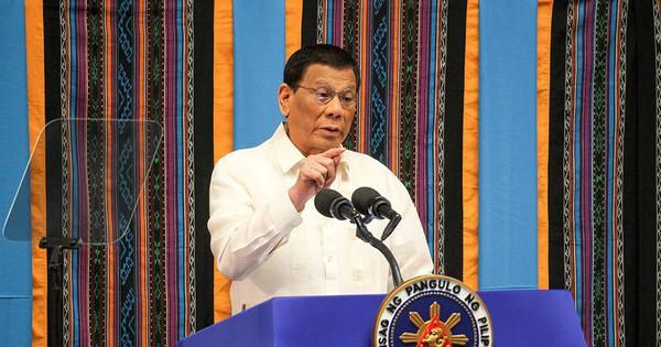 Tổng thống Philippines: Chưa thực thi phán quyết của Tòa Trọng tài Quốc tế về Biển Đông để tránh chiến tranh với Trung Quốc