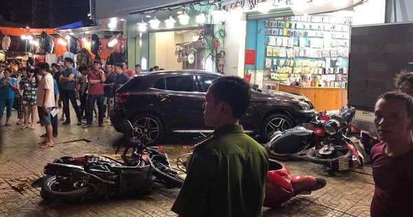 Danh tính người phụ nữ điều khiển xe Mercedes gây tai nạn liên hoàn ở Sài Gòn