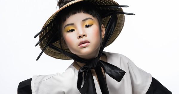 Mẫu nhí Trần Phương Anh gây bất ngờ với bộ ảnh đầy ma mị