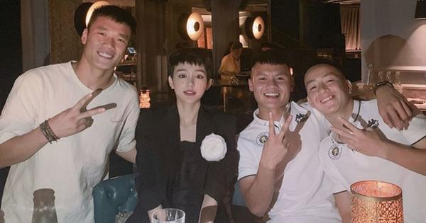Cầu thủ Quang Hải vướng vào vòng nghi vấn hẹn hò với Hiền Hồ