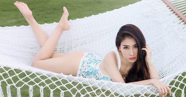 DJ Oxy vào resort 5 sao chụp ảnh bikini