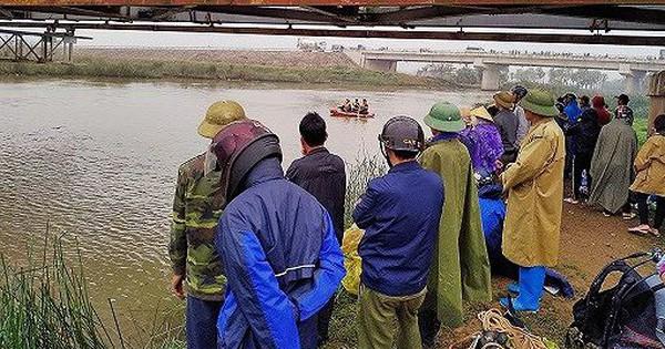 Hàng chục cán bộ chiến sỹ tìm kiếm nạn nhân đuối nước